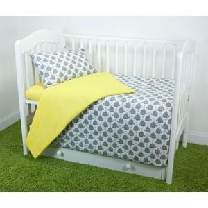 Комплект постельного белья для малышей Magic City Королевский слон КПБМР-ББ-023