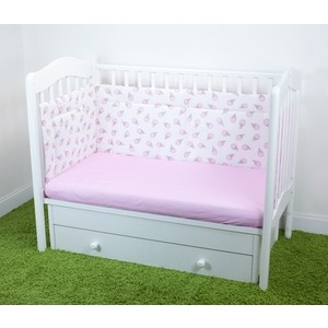 Бортики в кроватку Magic City Розовый десерт БК-ББ-003/30