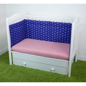 Бортики в кроватку Magic City Синее созвездие БК-ББ-011/45 printio синее сердце