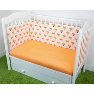Бортики в кроватку Magic City Апельсиновый лис БК-ПП-021/30 комбинезон утепленный для новорожденного boom вариант 2 цвет молочный 90011 bom размер 68 6 месяцев