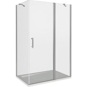 Душевой уголок Good Door Mokka WTW-120-C-WE + SP-100-C-WE 120x100 (МК00006 МК00010)