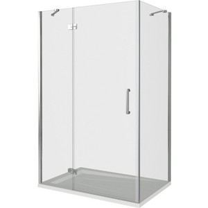 Душевой уголок Good Door Saturn WTW-140-C-CH-L + SP-100-C-CH 140x100 (СА00006 СА00011)