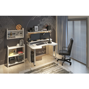 Стол компьтерный МЭРДЭС СКЛ-Игр120+НКИЛ120 К