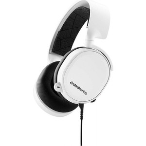 Игровые наушники SteelSeries Arctis 3 2019 Edition White (61506)