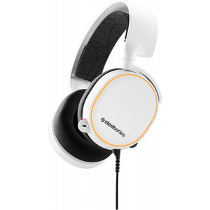 Игровые наушники SteelSeries Arctis 5 2019 Edition White (61507)