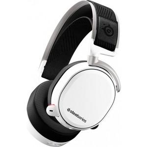 лучшая цена Игровые наушники SteelSeries Arctis Pro Wireless White (61474)