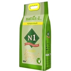 Наполнитель N1 NATUReL Кукурузный комкующийся для кошек 17,5л