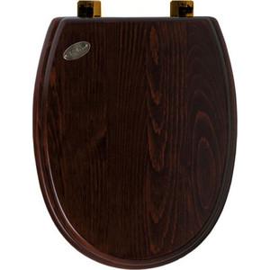 Сиденье для унитаза Simas Arcade орех/бронза (AR009noce/br) бачок для унитаза simas lante la28b