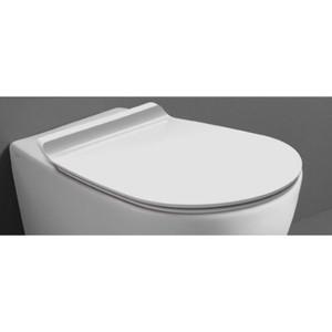Сиденье для унитаза Simas Bormio с микролифтом, белый (BR006bi/cr) сиденье для унитаза simas lante с микролифтом la008noce cr