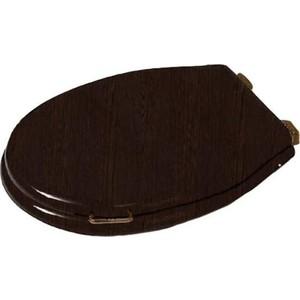 Сиденье для унитаза Simas Lante с микролифтом, орех/бронза (LA009noce/br) крышка сиденье для унитаза simas lante la007