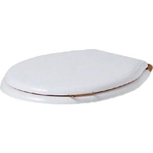Сиденье для унитаза Simas Lante с микролифтом, белый/бронза (LA007bi/br) крышка сиденье для унитаза simas lante la007