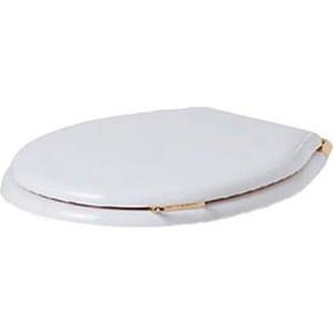 Сиденье для унитаза Simas Lante с микролифтом, орех/золото (LA007bi/oro) крышка сиденье для унитаза simas lante la007