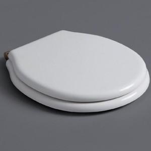 Сиденье для унитаза Simas Londra с микролифтом, белый/бронза (LO007 bi/br) цены