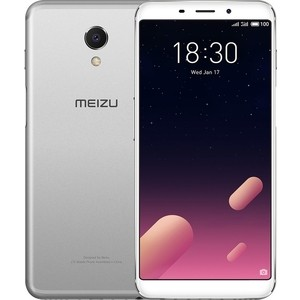 Смартфон Meizu M6s 3/32GB Silver White смартфон meizu m6 note 3 32gb black