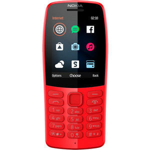Мобильный телефон Nokia 210 DS TA-1139 RED смартфон nokia 1 ds ta 1047 dark blue