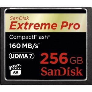 цена на Карта памяти Sandisk Extreme Pro CF 160MB/s 256 GB VPG 65, UDMA 7 (SDCFXPS-256G-X46)