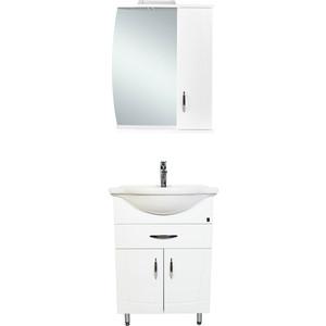 Мебель для ванной комнаты Orange Софи 60 белый для ванной комнаты мебель