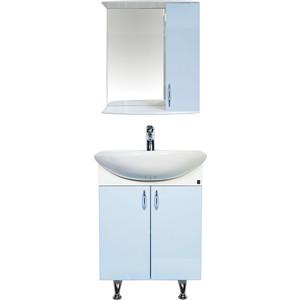 Мебель для ванной комнаты Orange Роса 60 голубая