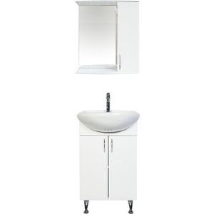 Мебель для ванной комнаты Orange Роса 50 белый для ванной комнаты мебель