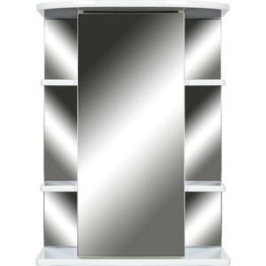 Зеркало-шкаф Orange Кларис 55 с подсветкой, белый, правый (Kl-55ZSW)