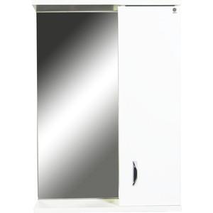 Зеркало-шкаф Orange Сити 50 белый, правый (Si-45-50ZS)