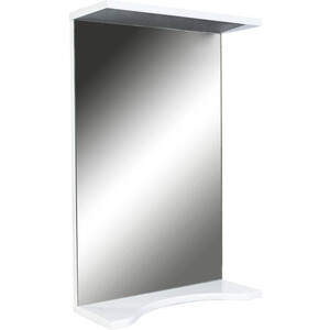 лучшая цена Зеркало Orange Стандарт 55 с подсветкой, белый (St-55ZE)