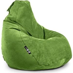 Кресло мешок GoodPoof Груша велюр L яблоко