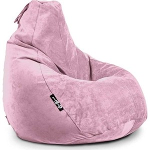 Кресло мешок GoodPoof Груша велюр пудра XL