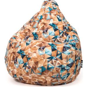 Кресло мешок GoodPoof Груша велюр кристалл XL