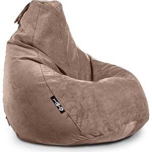 Кресло мешок GoodPoof Груша велюр капучино XL