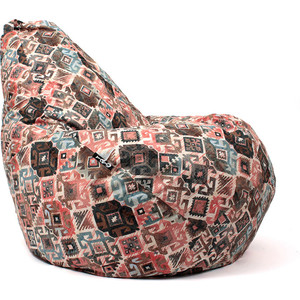 Кресло мешок GoodPoof Груша жаккард Ясмин XL