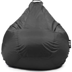 Кресло мешок GoodPoof Груша оксфорд черный XL