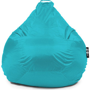 Кресло мешок GoodPoof Груша оксфорд голубой XL