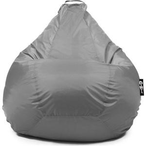 Кресло мешок GoodPoof Груша оксфорд серый XL