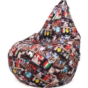 Кресло мешок GoodPoof Груша велюр XL Италия
