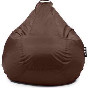 Фото - Кресло мешок GoodPoof Груша оксфорд коричневый XXL кресло мешок пуфофф black oxford xxl