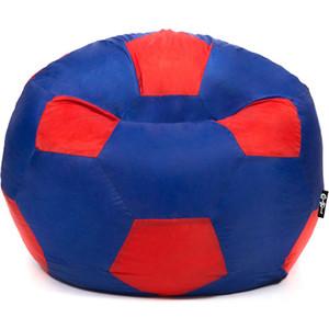 Кресло мяч GoodPoof Футбольный III сине-красный 80 L