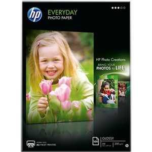HP Полуглянцевая фотобумага (Q2510A)