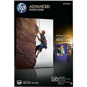 Бумага HP Улучшенная глянцевая фотобумага (Q8691A) фотобумага hp q1420b q1420b