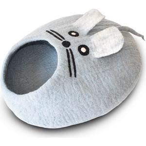 Домик Dharma dog Karma cat Мышь голубой для животных