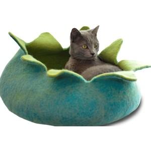 Домик Dharma dog Karma cat Лепестки зеленые 14 для животных