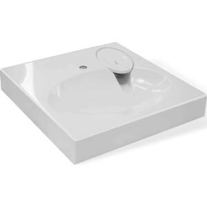 Раковина над стиральной машиной Эстет Lea 60x60 с кронштейнами (2044000000941)