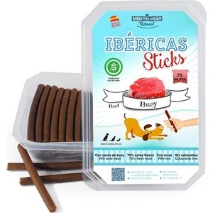 Лакомство MEDITERRANEAN IBERICAS Sticks Beef палочки из говядины для собак 900г (75шт) цена