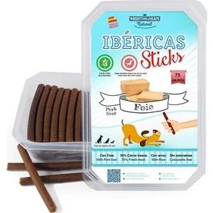 Лакомство MEDITERRANEAN IBERICAS Sticks Pork Liver палочки из печени для собак 900г (75шт)