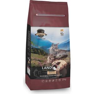 Сухой корм LANDOR Sensitive Lamb and Rice гипоаллергенный с ягнёнком и рисом для кошек чувствительным пищеворением 10кг