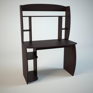 Стол компьютерный Маэстро Диалог мини венге