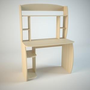 Стол компьютерный Маэстро Диалог мини липа