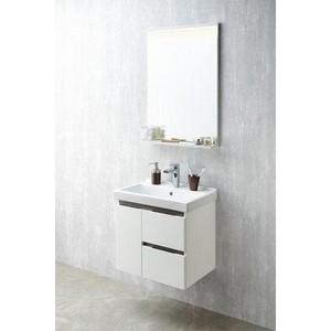 Мебель для ванной Акватон Рене 60 белый/грецкий орех цена в Москве и Питере