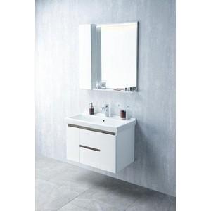 Мебель для ванной Акватон Рене 80 белый/грецкий орех цена в Москве и Питере