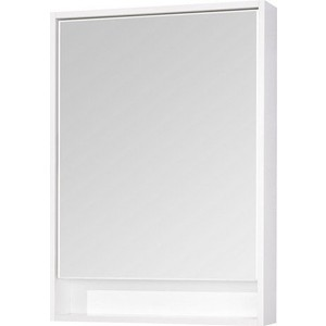 Зеркальный шкаф Акватон Капри 60 белый, с подсветкой (1A230302KP010) фото
